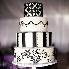 black and white wedding cakes black and white wedding cakes