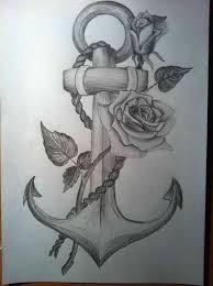 rose drawing tattoo with a cross freespywarefixescom