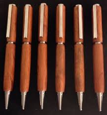 Handcrafted Wooden Pens - wood pen groomsmen gifts 6 handmade wooden by tennesseewoodshop