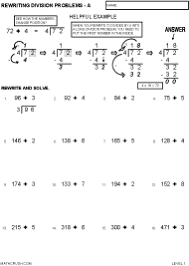 worksheets on division by math crush