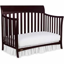 How To Convert Graco Crib To Full Size Bed by Graco Rory 5 In 1 Convertible Crib Espresso Ebay