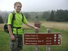 Grayson Highlands State Park Map by Rhododendron Gap Virginia Hiking