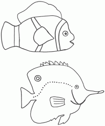 clown fish coloring page coloring home