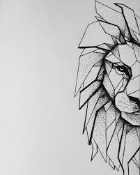 lion tattoo sketches