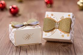 personalized ribbon for wedding favors wedding favors candy boxes wedding gift box chocolate box paper