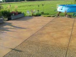 Stain Concrete Patio by Malayan Buff Acid Stain Project Photo Gallery Direct Colors Inc