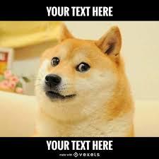 Meme Generador - dog meme generator editable design