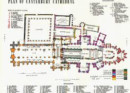 cathedral floor plan canterbury cathedral floor plan plan of canterbury cathedral