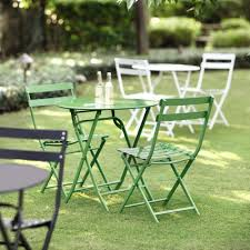 green metal outdoor table appealing bistro patio furniture 48 yellow outdoor goods chairs