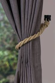 Curtain Rope Tie Backs Curtain Rope Ties Hemp Rope Twist Tiebacks Nautical Ties Rope