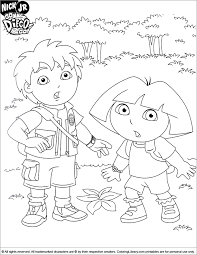 Go Diego Coloring Pages Coloring Home Go Diego Go Coloring Pages