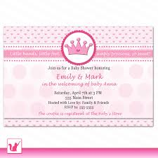 frog baby shower invitations princess crown baby shower invitations princess crown shoes jewel