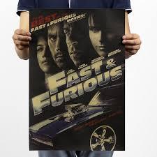 free shipping fast u0026 furious 4 nostalgia film classic movie kraft