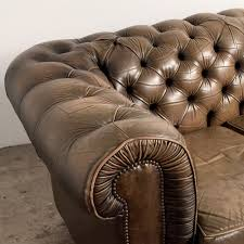 french vintage chesterfield sofa