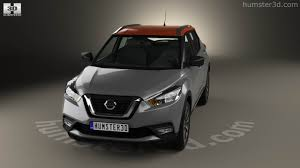 nissan kicks 2017 black 360 view of nissan kicks 2017 3d model hum3d store