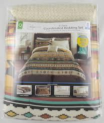Mainstay Comforter Sets Mainstays Kokopeli Bed In A Bag Coordinated Bedding Set Walmart Com