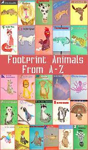 kid u0027s footprint animal crafts for a z kids handprint u0026 footprint