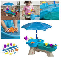 step2 spill splash seaway water table water table kids toy play outdoor activity splash umbrella