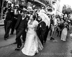 second line wedding november in new orleans leslie tarabella