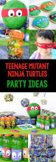 Halloween Party Ideas For Tweens Teenage Mutant Ninja Turtle Party Ideas