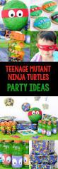 halloween party ideas for tweens teenage mutant ninja turtle party ideas