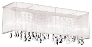 dainolite 85324w 44 119 4 light crystal vanity pc finish