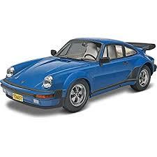 porsche 911 kit amazon com revell porsche 911 turbo plastic model kit toys