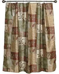 bacova guild shower curtain autumn leaves home kitchen