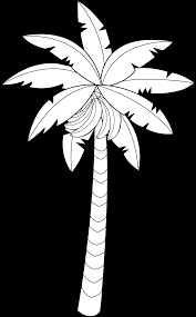 astounding fruit coloring pages printables with palm tree coloring