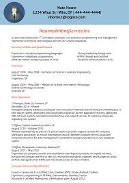 Consulting Resume Example Information Technology Consultant Resume Sample Resume Writing