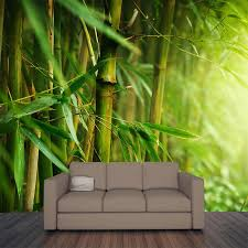 closeup of bamboo forest wall mural majestic wall art closeup of bamboo forest wall mural