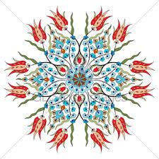 Pattern Ottoman Antique Ottoman Turkish Pattern Vector Design Fourty Nine Gl