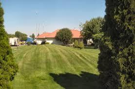 Landscape Mounds Front Yard - septic system design