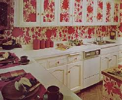 Wallpaper Ideas For Kitchen Wallpaper Kitchen Ideas Photo Kitchen - Kitchen cabinet wallpaper
