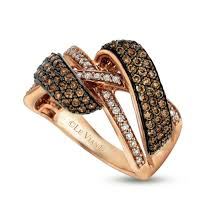 levian engagement rings le vian 14k gold chocolate diamond crossover ring