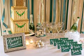 emerald green table runners emerald and chagne wedding ideas ruffled