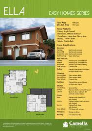 house and lot bulacan for sale camella bulacan ella house specifications ella