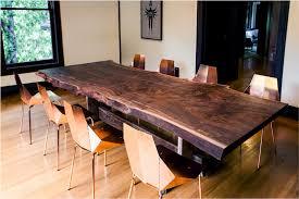 Dining Room Furniture Edmonton Wood Live Edge Table