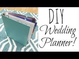 wedding book planner diy wedding planner