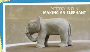 making animals out of clay how to make an elephant pottery is