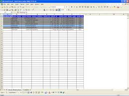 Sample Of Excel Spreadsheet Hotel Reservations Excel Templates