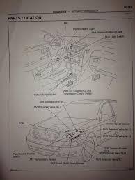 lexus gs430 transmission fluid change error code p0753 shift