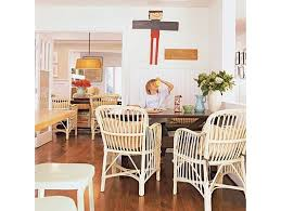 wicker kitchen furniture using wicker furniture indoors the country chic cottage