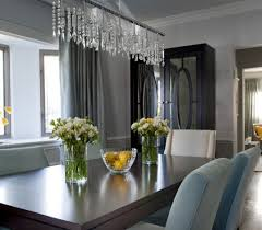 crystal dining room chandelier crystal dining room chandeliers