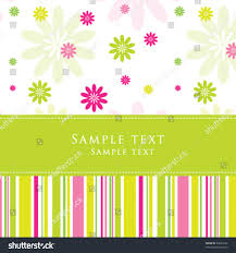 birthday card nice greeting card template stock vector 62092234