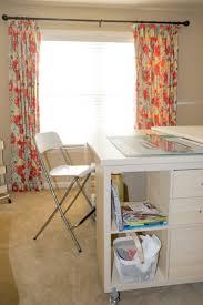 sewing cutting table ikea kallax crafting table 5 craft room ideas pinterest kallax