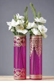 Glass Vase Painting Best 25 Painted Vases Ideas On Pinterest Diy Painted Vases