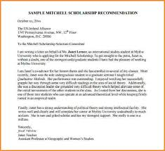 how to write recommendation letter for scholarship student