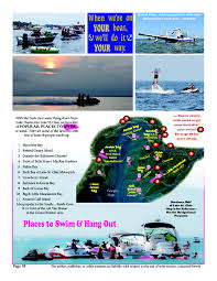 Port Huron Michigan Map by Things To Do U0026 Events Lake St Clair Lake St Clair Guide