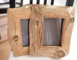 solid wood frames made from salvaged barn wood